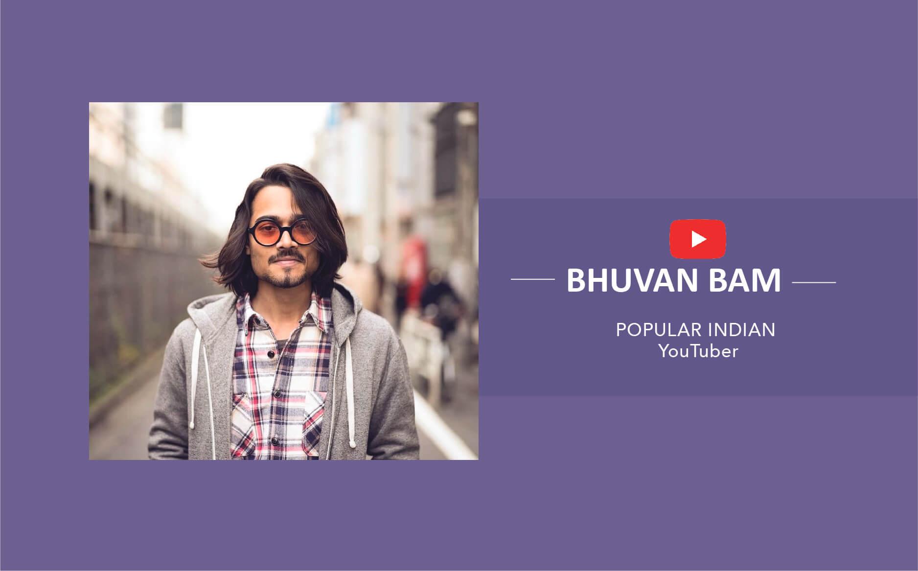 Youtuber Bhuvan Bam