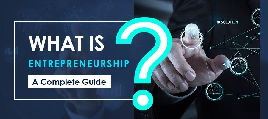 What is Entrepreneurship | The Money GIg