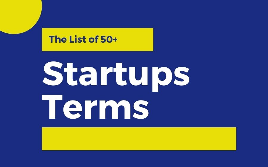 Startups Terms | The Money Gig