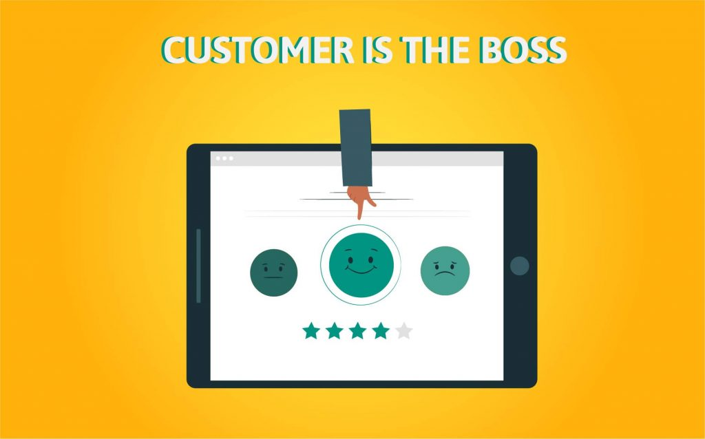 """""""CUSTOMER IS THE BOSS""""- Motivational Quotes for Entrepreneurs"""