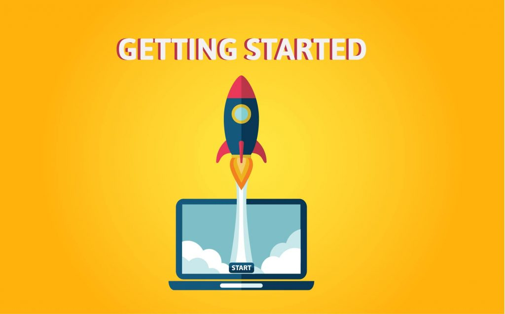 """""""GETTING STARTED""""- Motivational Quotes for Entrepreneurs"""