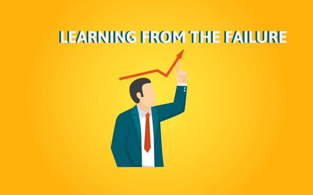 """""""LEARNING FROM FAILURE""""- Motivational Quotes for Entrepreneurs (1)"""