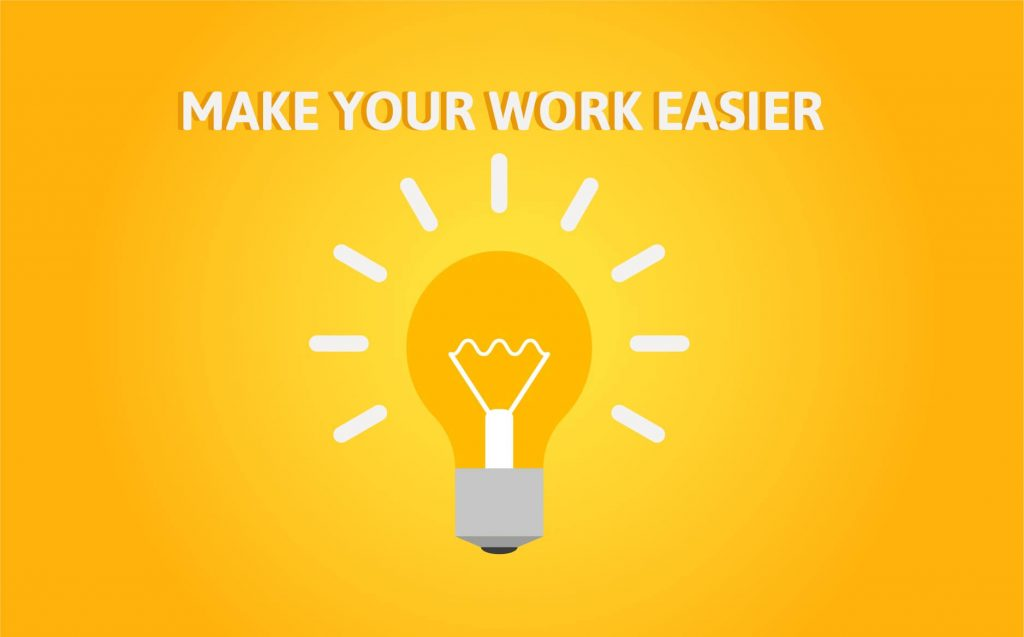 """""""TIPS TO MAKE YOUR WORK EASIER""""- Motivational Quotes for Entrepreneurs"""