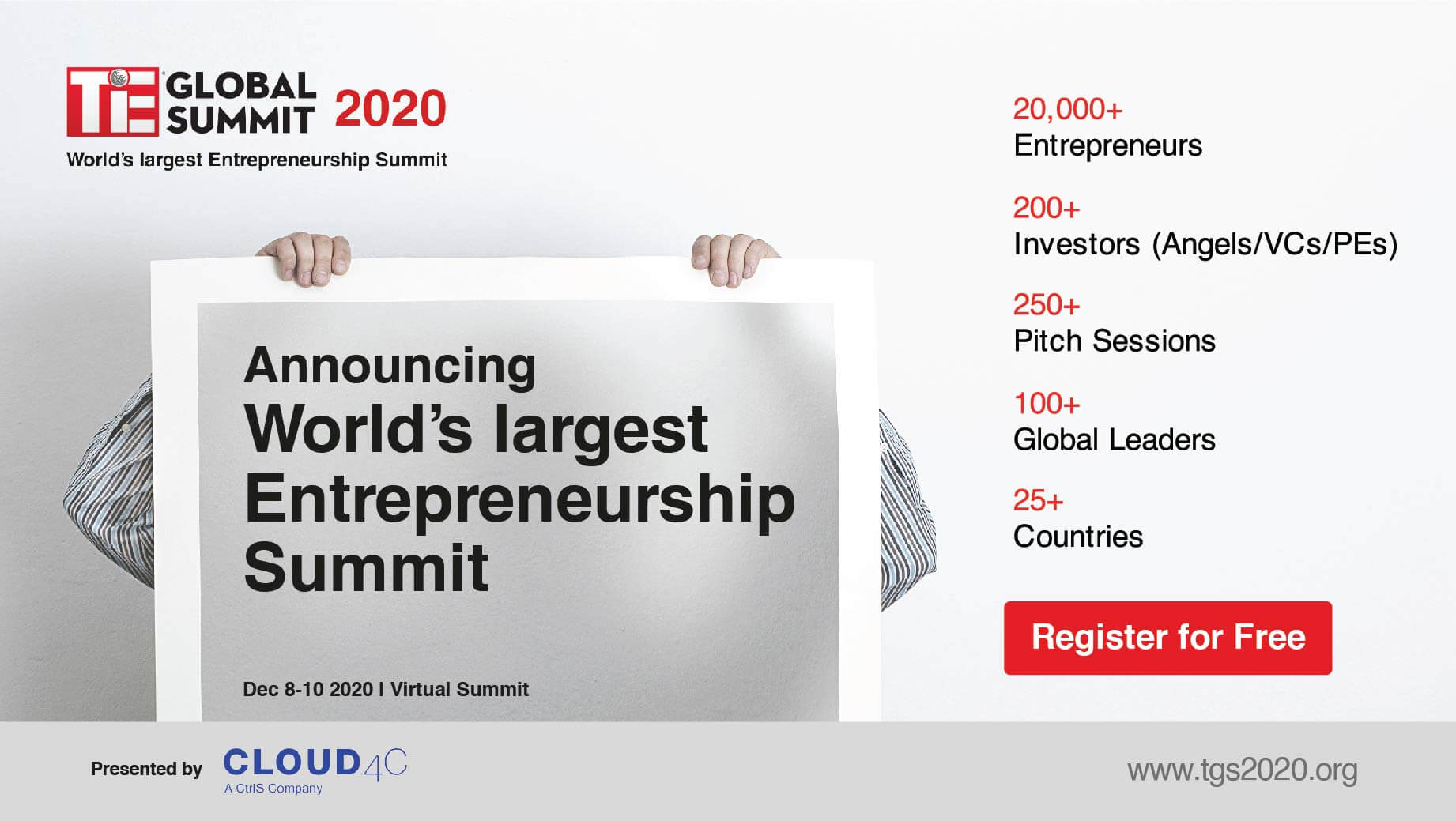 Tie Entrepreneurship Event 2020